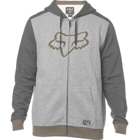 Fox Destrakt Zip Fleece Jacket Men heather graphite